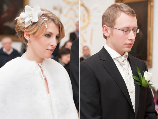Hochzeitsfotograf Aachen – Trauung im weißen Saal