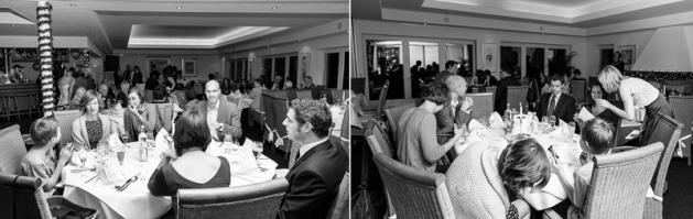 feier im Golfclub Royal Saint Barbara's