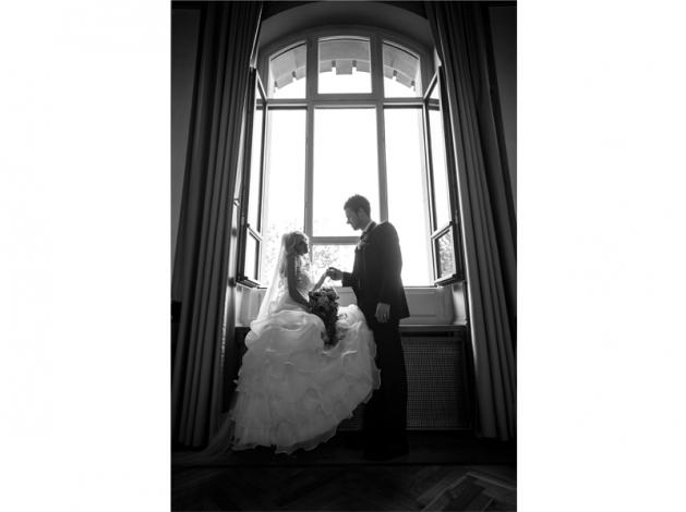 Hochzeitsfotos - historische Stadthalle Wuppertal