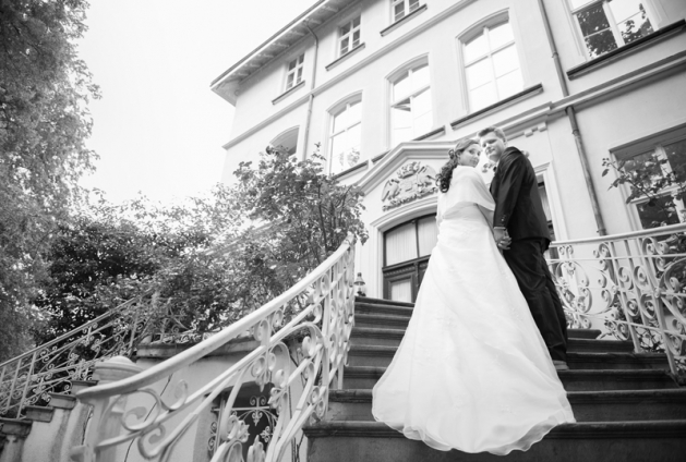 Hochzeitsfotograf Lünen Trauung im Schloss Schwansbell