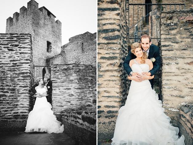Wedding castle Burg Bourscheid Luxembourg