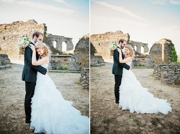 photographe de mariage Burg Bourscheid Luxembourg
