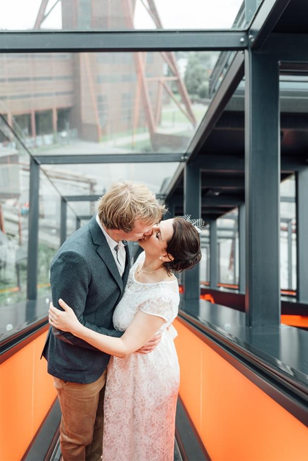 Hochzeit Zeche Zollverein Essen