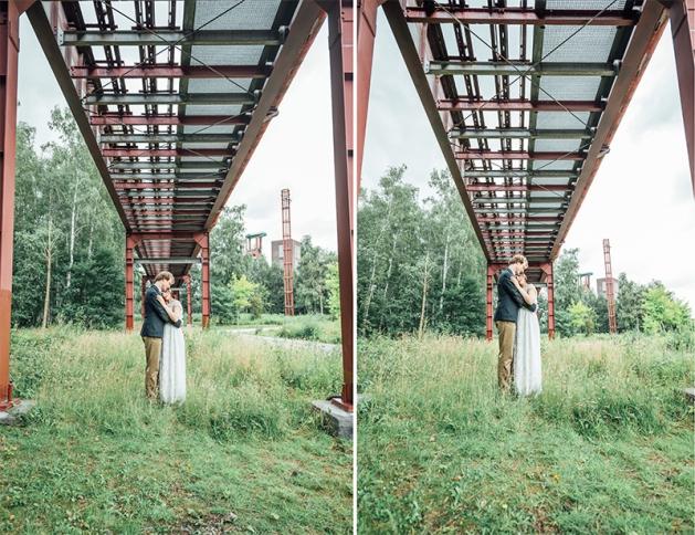 Hochzeitsfotos Zeche Zollverein Essen