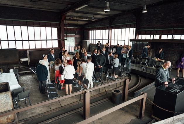 Hochzeit Zeche Zollverein Essen 23