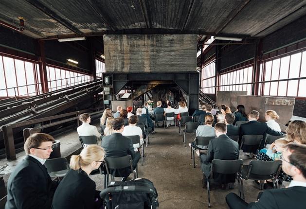 Hochzeit Zeche Zollverein Essen 3