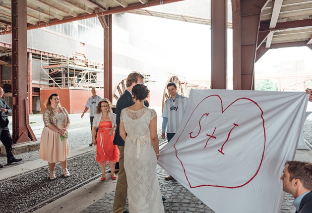 Hochzeit Zeche Zollverein Essen 5