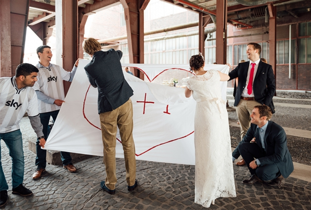 Hochzeit Zeche Zollverein Essen 7