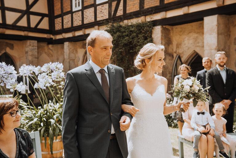Hochzeit Trauung kloster haydau
